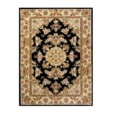 Opulance Hand-Tufted Dark Blue Area Rug Rug Size: 3 x 46