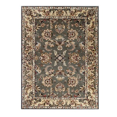 Opulance Hand-Tufted Olive Green Area Rug Rug Size: 3 x 46