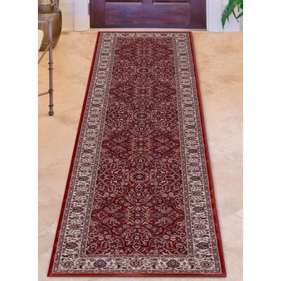 Avenue 33 Milan Red Area Rug
