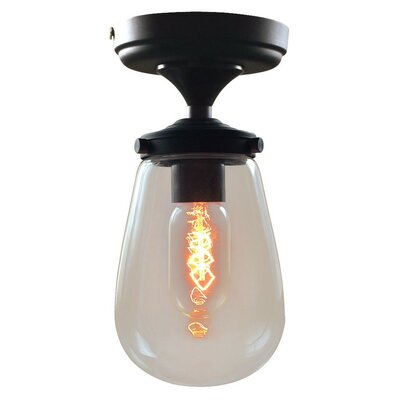 Grape 1-Light Semi Flush Mount