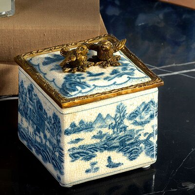 Square Decorative Box RA257