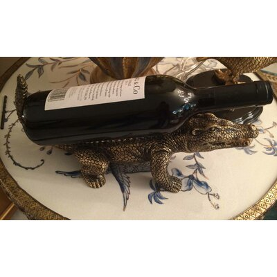 Alligator 1 Bottle Tabletop Wine Rack
