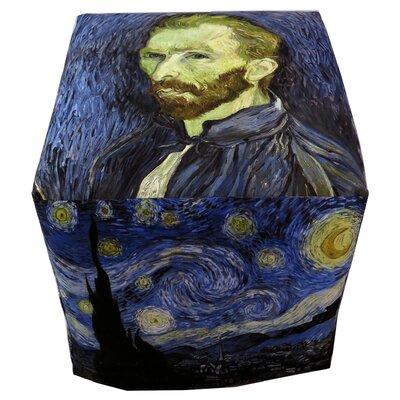Vincent Van Gogh Cube Ottoman