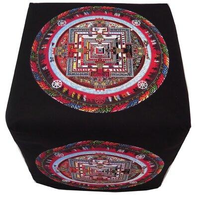 Tibetan Sand Mandala Ottoman