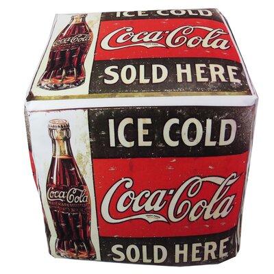 Vintage Coca Cola Ottoman