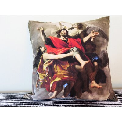 Apotheosis of Saint Paul Throw Pillow Size: 18 H x 18 W x 4 D