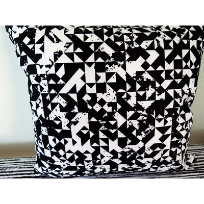 Abstract Geometric Throw Pillow Size: 18 H x 18 W x 4 D