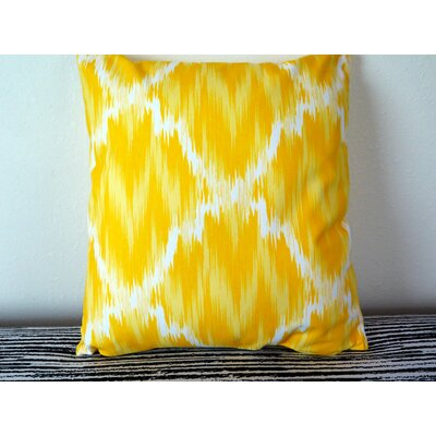 Seamless of Small Circles Throw Pillow Size: 18 H x 18 W x 4 D