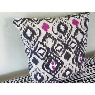 Ethnic Throw Pillow Size: 30 H x 30 W x 4 D