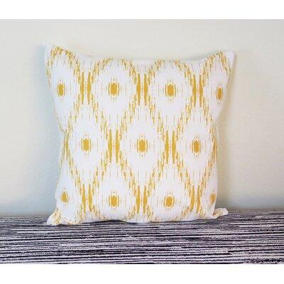 Ikat Throw Pillow Size: 18 H x 18 W x 4 D