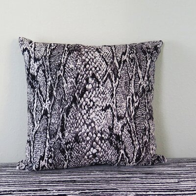 Scale Python Throw Pillow Size: 30 H x 30 W x 4 D