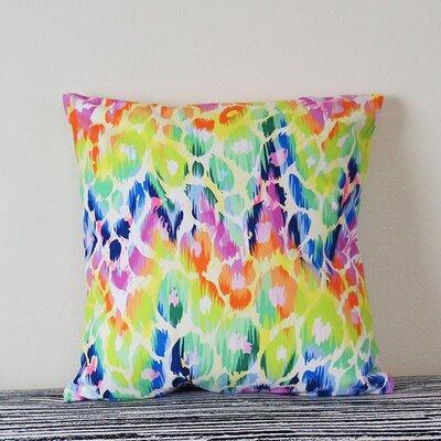 Giraffe Skin Print Throw Pillow Size: 30 H x 30 W x 4 D