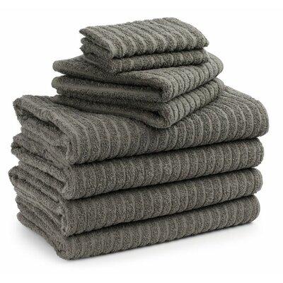 Cambridge Super Dry US Cotton 8 Piece Bath Towel Set Color: Sandpiper Grey