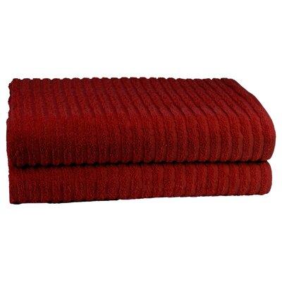 Cambridge Super Dry US Cotton Bath Sheet Color: Berry Red
