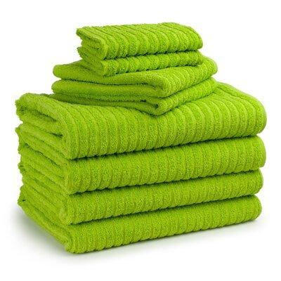 Cambridge Super Dry US Cotton 8 Piece Bath Towel Set Color: Tendershoots