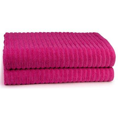 Cambridge Super Dry US Cotton Bath Sheet Color: Pink Flambe