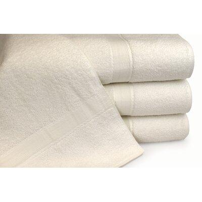 Royal Ascot 4 Piece Bath Towel Set Color: White