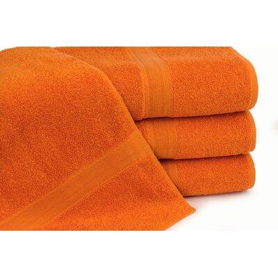 Royal Ascot 4 Piece Bath Towel Set Color: Mandarin