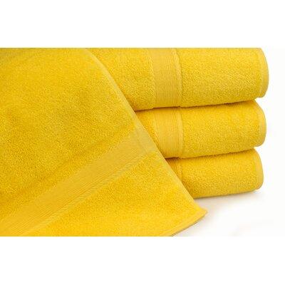 Royal Ascot 4 Piece Bath Towel Set Color: Citrus