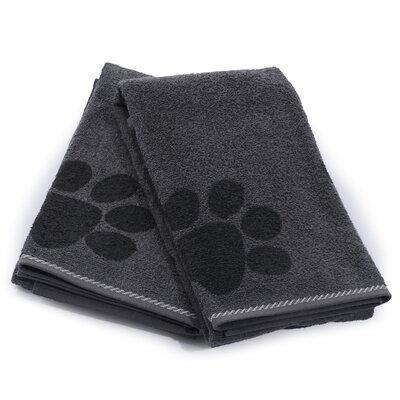 X-Static Pet Bath Towel Color: Granite Gray