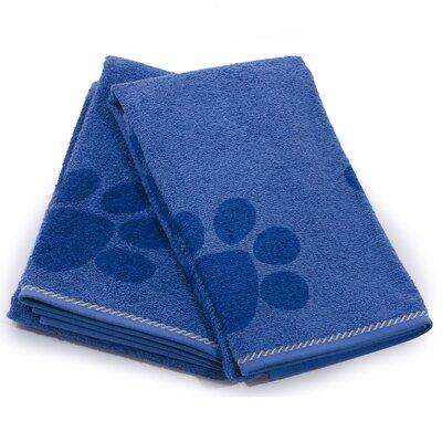 X-Static Pet Bath Towel Color: Blue