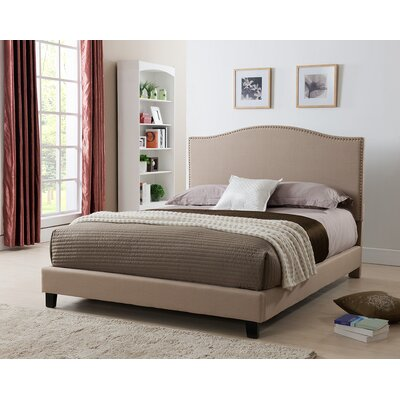Brittany Upholstered Platform Bed Size: California King