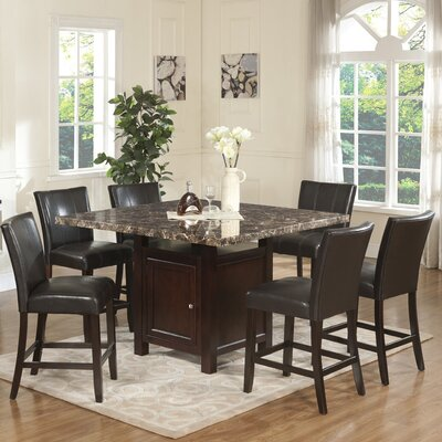 Ashley 7 Piece Counter Height Dining Set