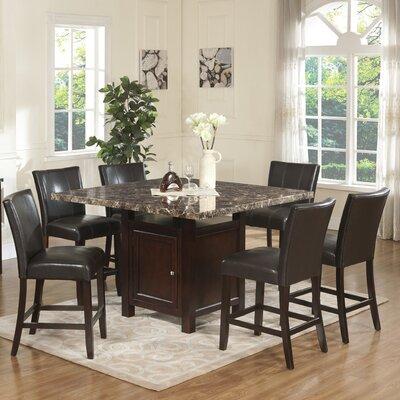 Heffington 7 Piece Dining Table Set