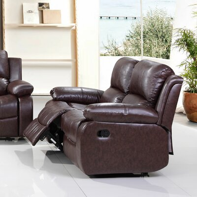 8402-3PC-2 BVIN1037 Living In Style Reno Reclining Loveseat