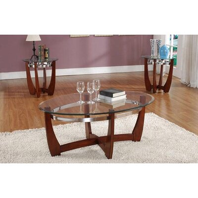 Cheryl 3 Piece Coffee Table Set