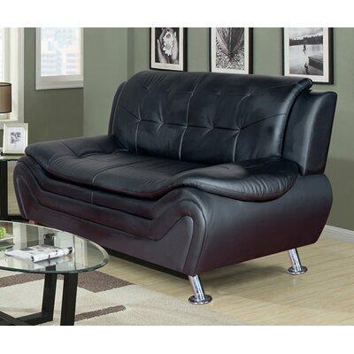 Fiorina Sofa Upholstery: Black