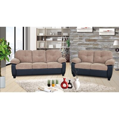 Alana 2 Piece Living Room Set
