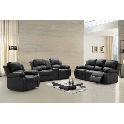 Steinbeck 3 Piece Living Room Set