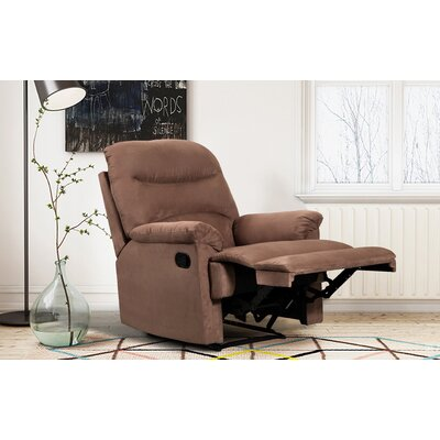 Alana Manual Recline Color: Brown