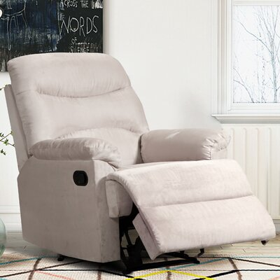 Alana Manual Recline Color: Beige