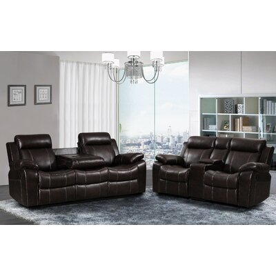 7688-2PC Living In Style Living Room Sets