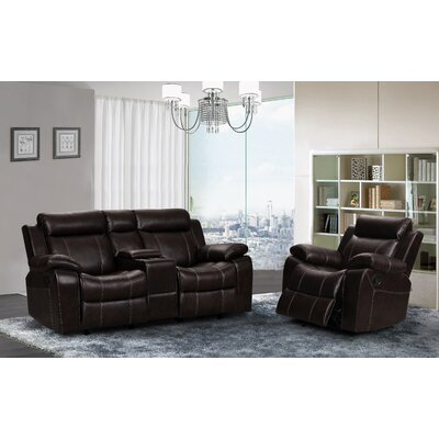 Gabrielle 2 Piece Living Room Reclining Set
