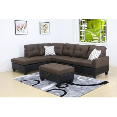 Damos Modular Sectional Orientation: Left Hand Facing