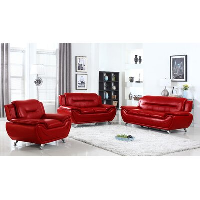Sophie 3 Piece Living Room Set