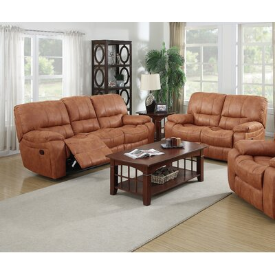 7418-2PC Living In Style Living Room Sets