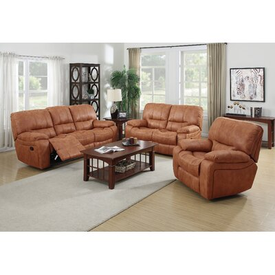 7418-3PC Living In Style Living Room Sets