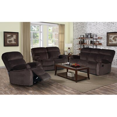 7698-3PC Living In Style Living Room Sets