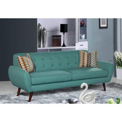 Keira Living Room Sofa Upholstery: Teal