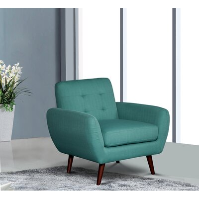 Keira Armchair Upholstery: Teal