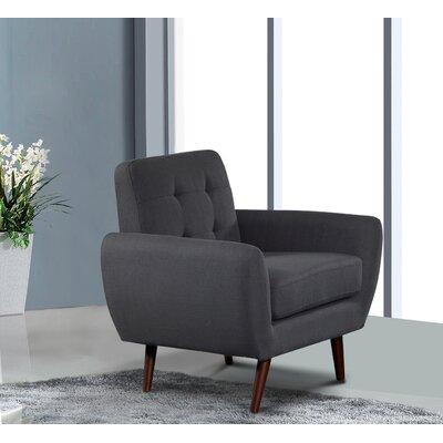 Diara Armchair Upholstery: Dark Gray