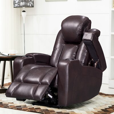 Piccadilly Leather Air Transforming Power Recliner
