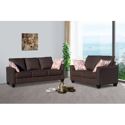 Daniela Sofa and Loveseat Set