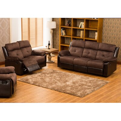 Red Barrel Studio RBRS8658 Tavistock 2 Piece Reclining Sofa and Loveseat Set