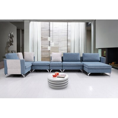 Kalypso Modern Living Room Modular Sectional