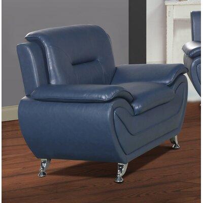 Polston Armchair Upholstery: Blue